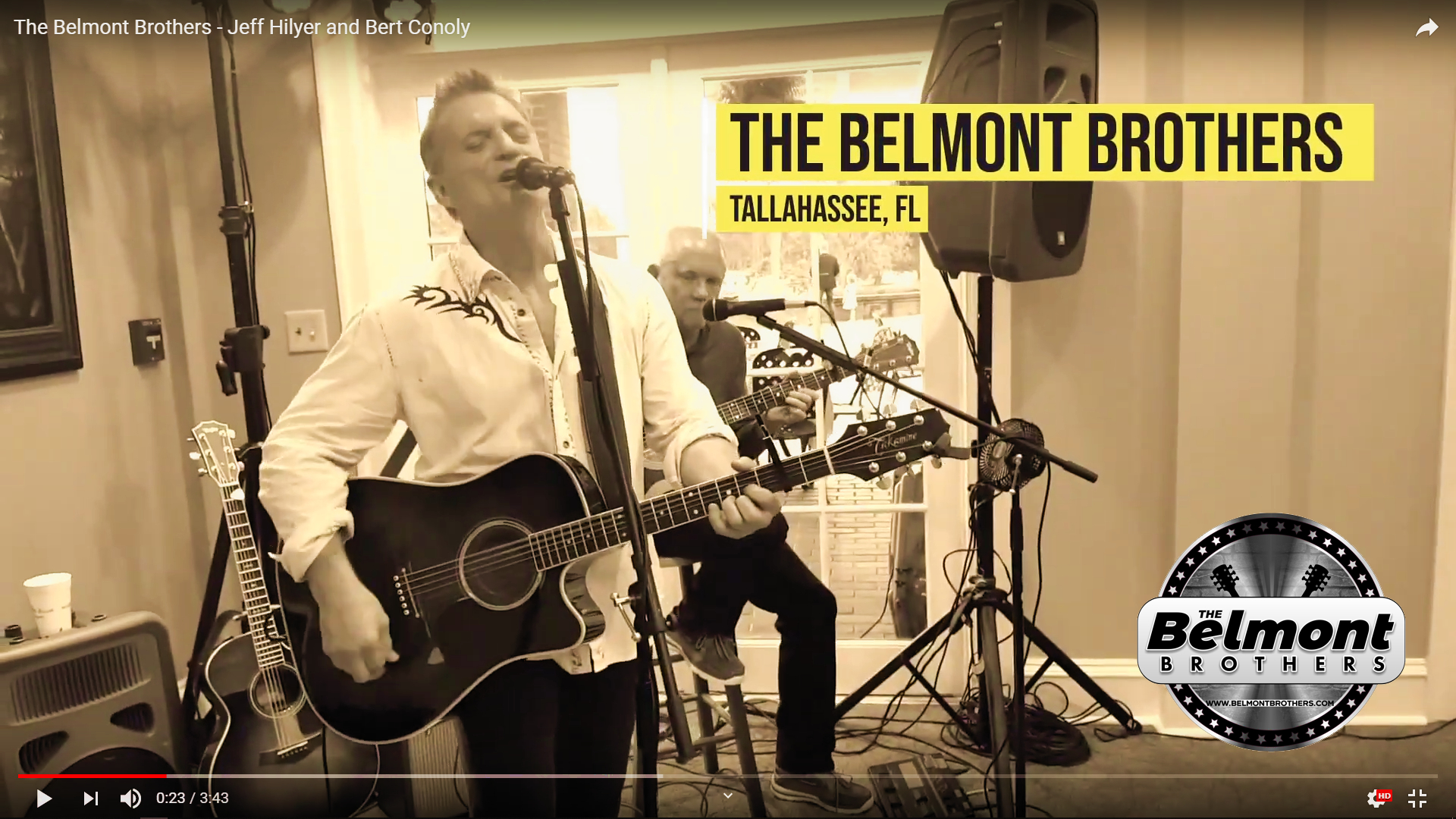 Jeff Hilyer & Bert Conoly - The Belmont Brothers